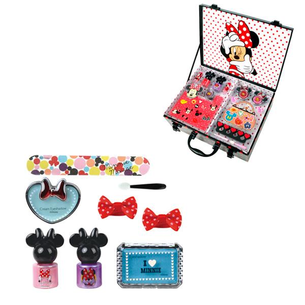Markwins 9703551 Minnie Игровой набор детской декоративной косметики в кейсе