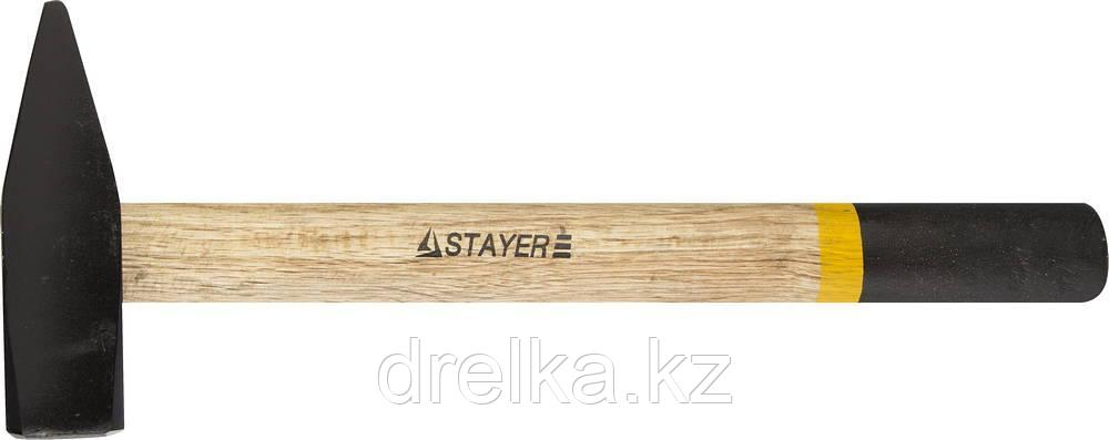 Молоток слесарный 2000 г с деревянной рукояткой, STAYER Master 2002-20