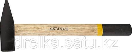 Молоток слесарный 2000 г с деревянной рукояткой, STAYER Master 2002-20, фото 2