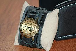 Мужские часы с кожаным ремешком BNK. Рассрочка. Kaspi RED.