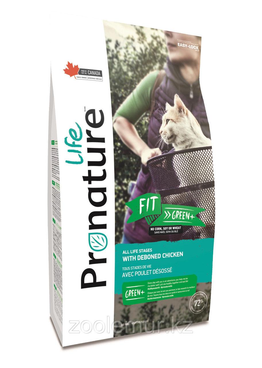Pronature Life Fit (Пронатюр Лайф Фит) корм для котят и кошек с курицей 2,27 кг