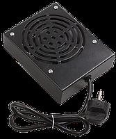 ITK Потолочная вентиляторная панель для шкафов LINEA W, 1 вентилятор, черная