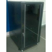 """Шкаф стандартный сетевой 19"""" 18U 600х600х900, цвет черный"""