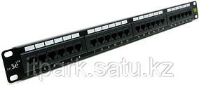 Патч-панель на 24 порта cat5e,1U