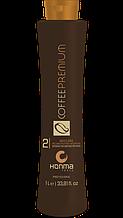 Кератин Honma Tokyo Coffee Premium All Liss Хонма Токио шаг -2