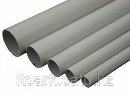 Труба ПВХ гладкая D=50мм легкая (длина 3 метра)
