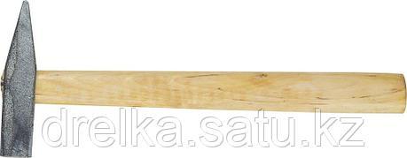 Молоток слесарный 200 г с деревянной рукояткой, оцинкованный, НИЗ 2000-02, фото 2