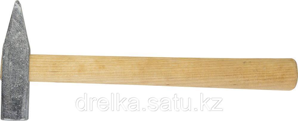 Молоток слесарный 400 г с деревянной рукояткой, оцинкованный, НИЗ 2000-04