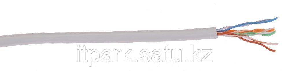 LC1-C5E04-111 ITK Кабель связи витая пара U/UTP, кат.5E, 4х2х24AWG solid,PVC,305м, серый