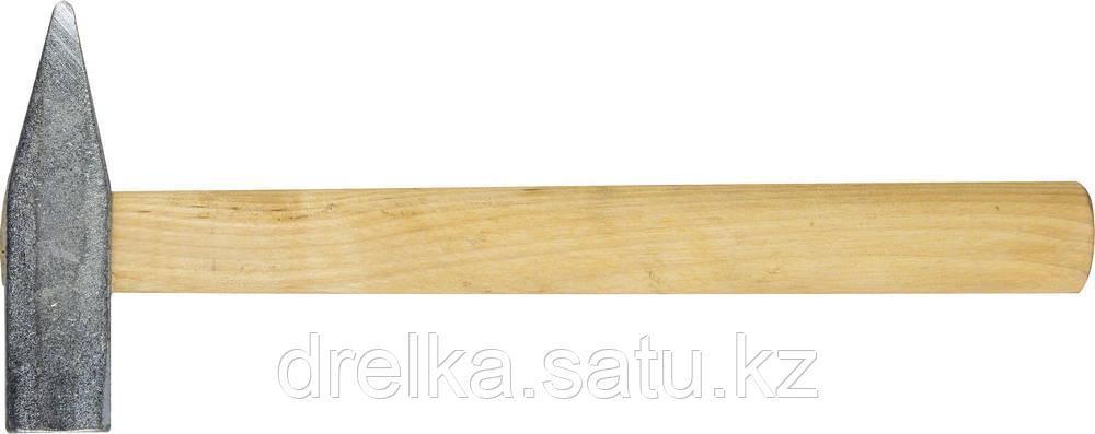 Молоток слесарный 600 г с деревянной рукояткой, оцинкованный, НИЗ 2000-06