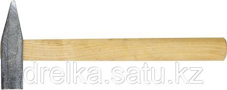 Молоток слесарный 600 г с деревянной рукояткой, оцинкованный, НИЗ 2000-06, фото 2