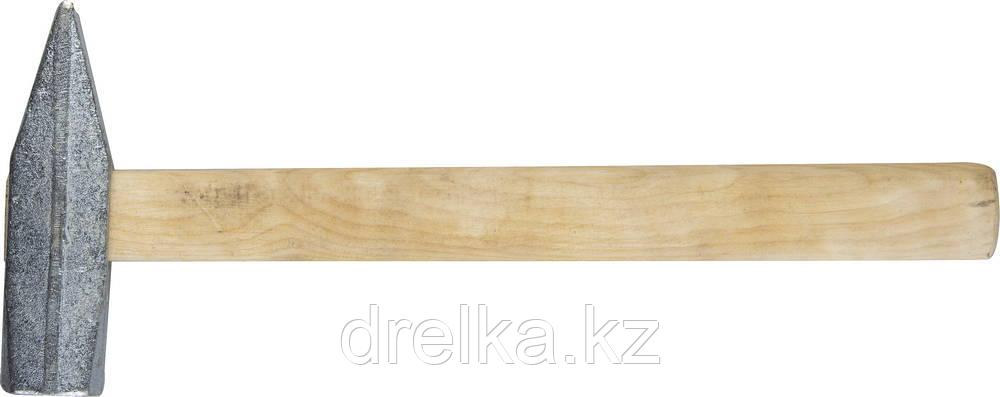 Молоток слесарный 800 г с деревянной рукояткой, оцинкованный, НИЗ 2000-08