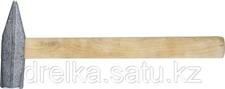 Молоток слесарный 800 г с деревянной рукояткой, оцинкованный, НИЗ 2000-08, фото 2