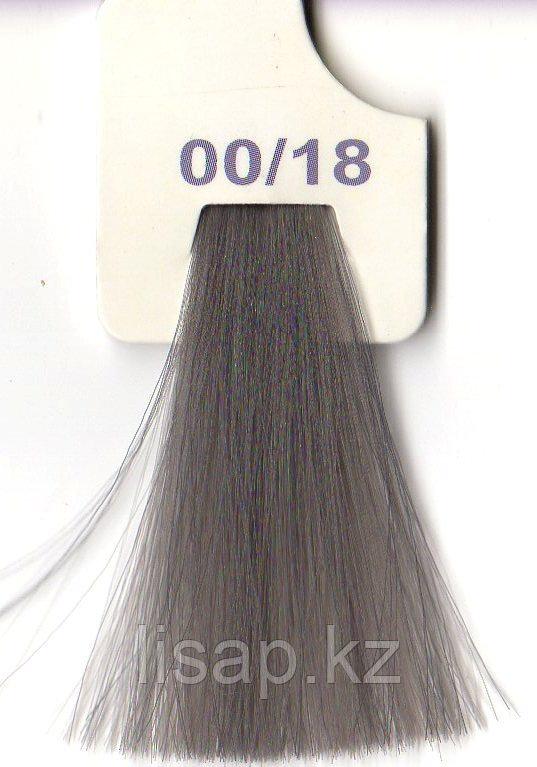 00/18 Краска для волос LK  марки LISAP пепельный микс. тон
