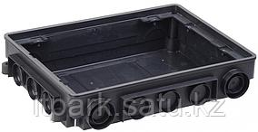 KNU-12-PA-9011 Коробка напольная ONFLOOR 12 модулей