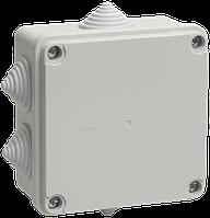UKO11-100-100-050-K41-55 Коробка КМ41234 распаячная для о/п 100х100х50 мм IP55 (RAL7035,6 гермоввод)