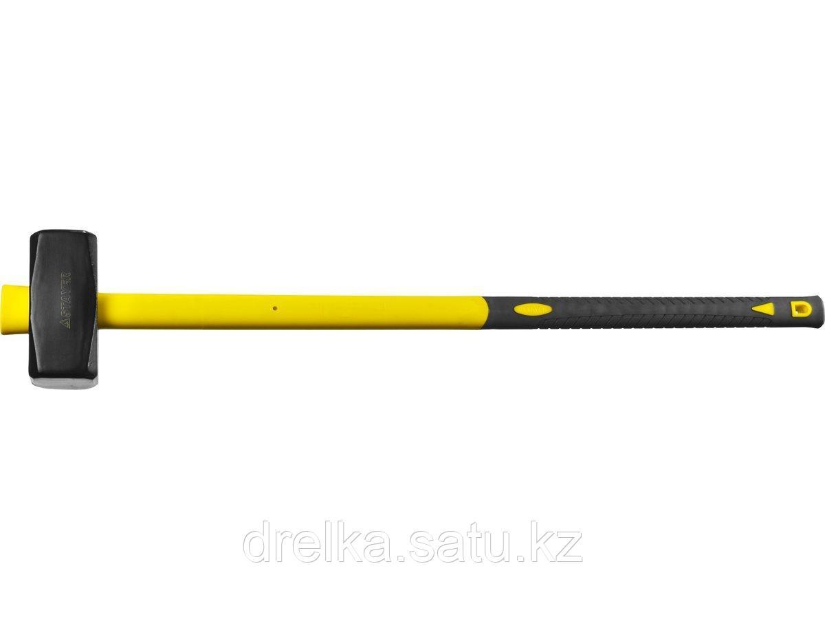 Кувалда с удлинённой фиберглассовой рукояткой 4 кг, STAYER Fiberglass-XL