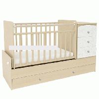 Кровать трансформер детская СКВ-9 Жираф