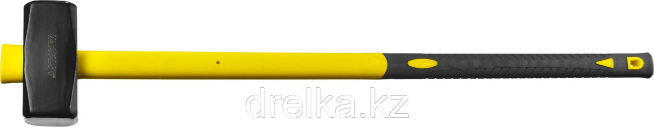 Кувалда с удлинённой фиберглассовой рукояткой 3 кг, STAYER Fiberglass-XL
