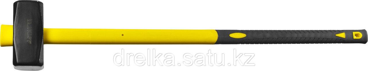 Кувалда с удлинённой фиберглассовой рукояткой 6 кг, STAYER Fiberglass-XL