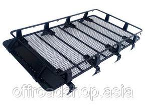 Багажник на крышу метал, 2,2м, пр-во Китай (с креплениями на водостоки)