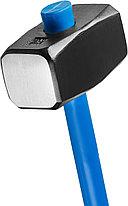 Кувалда с фиберглассовой рукояткой СИБИН, обратный всад, 8 кг, фото 2
