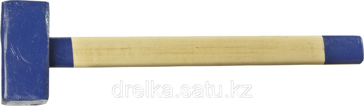 Кувалда СИБИН с деревянной рукояткой, 5кг