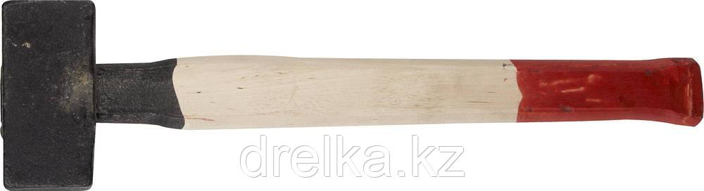 Кувалда литая с деревянной рукояткой 3кг