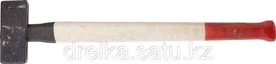 Кувалда литая с деревянной рукояткой 5кг, фото 2