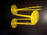 Дюбель для крепления изоляционных материалов зонтики
