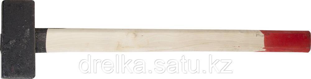 Кувалда литая с деревянной рукояткой 6кг