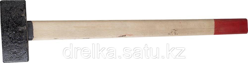 Кувалда литая с деревянной рукояткой 7кг