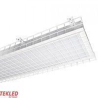 Св-к LZN 2X58W S/U MODERNA OPAL+решетка ELECTR MGL