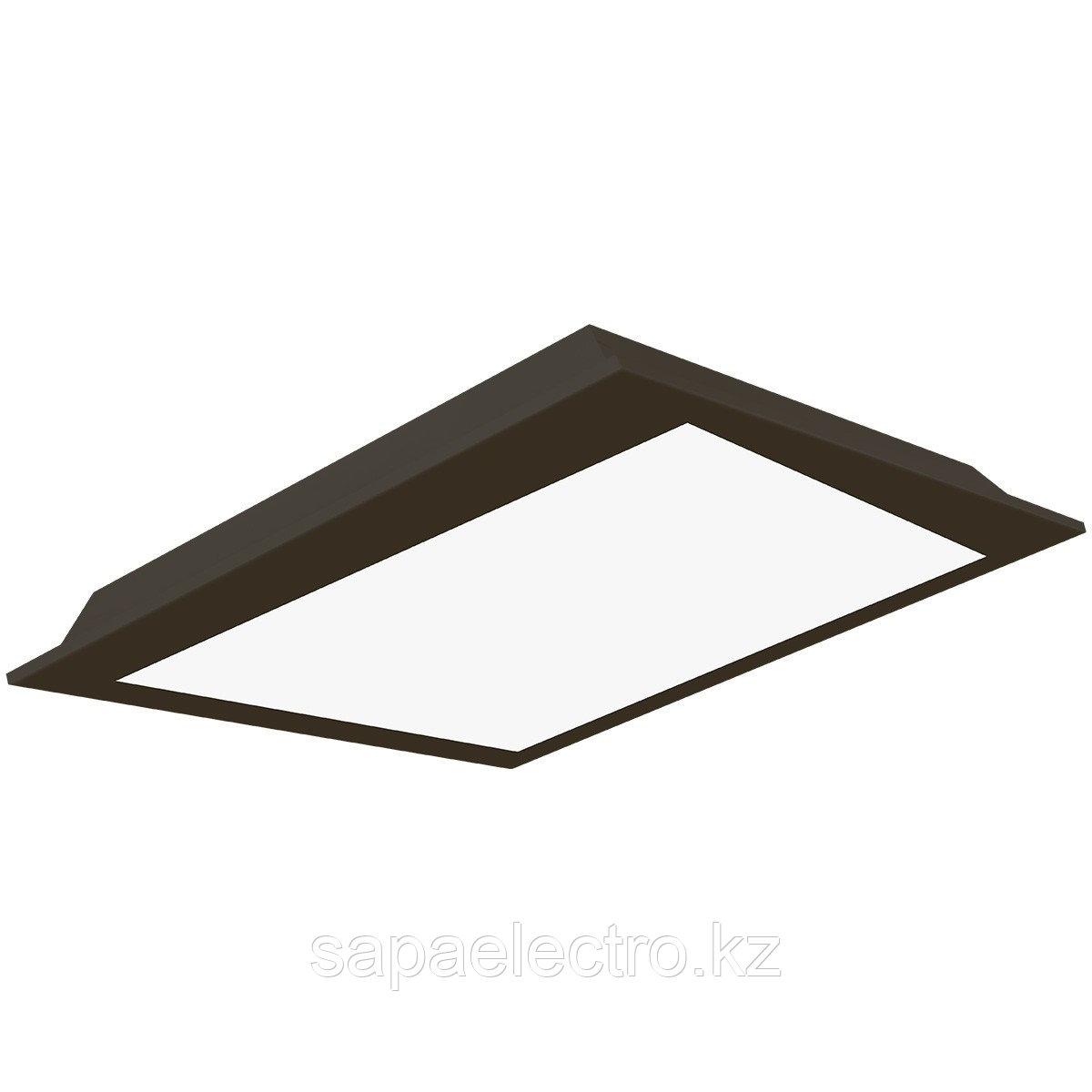 Св-к  OPALLED FRAME 48W BLACK S/A  600x600 5700K  M