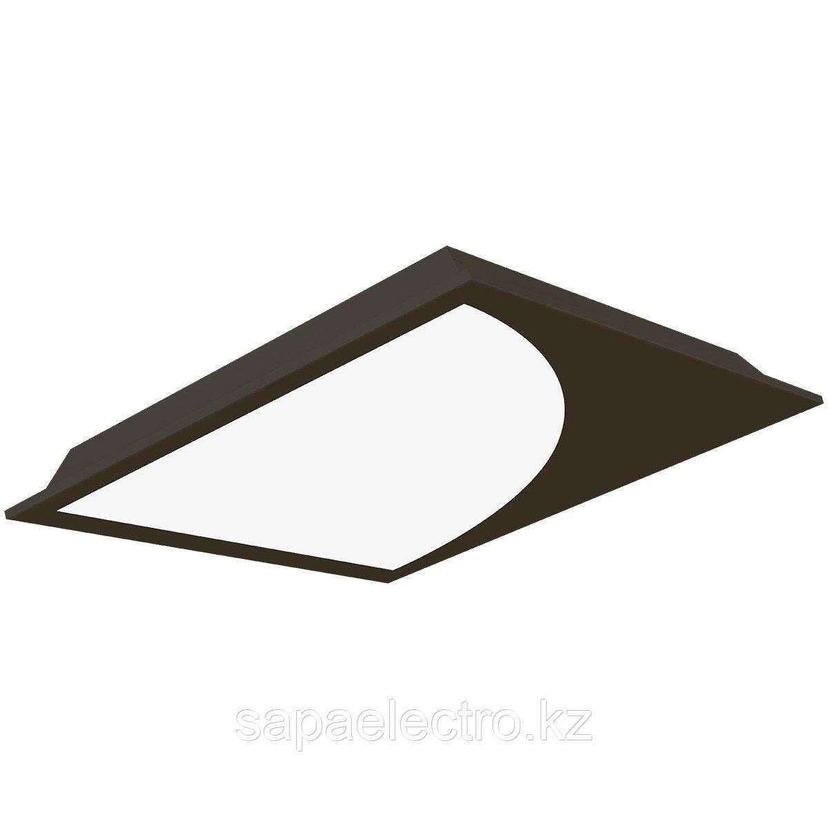 Св-к  OPALLED PLANET 48W BLACK S/A  600x600 5700K