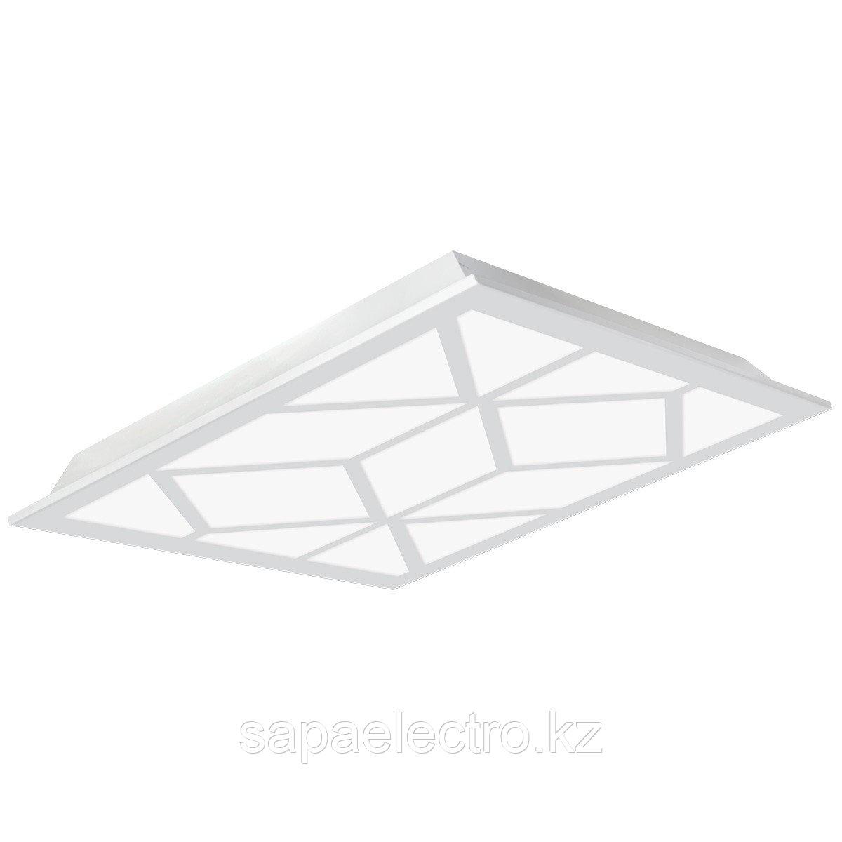 Св-к  OPALLED GEOMETRY 48W WH S/A  600x600 5700K  M