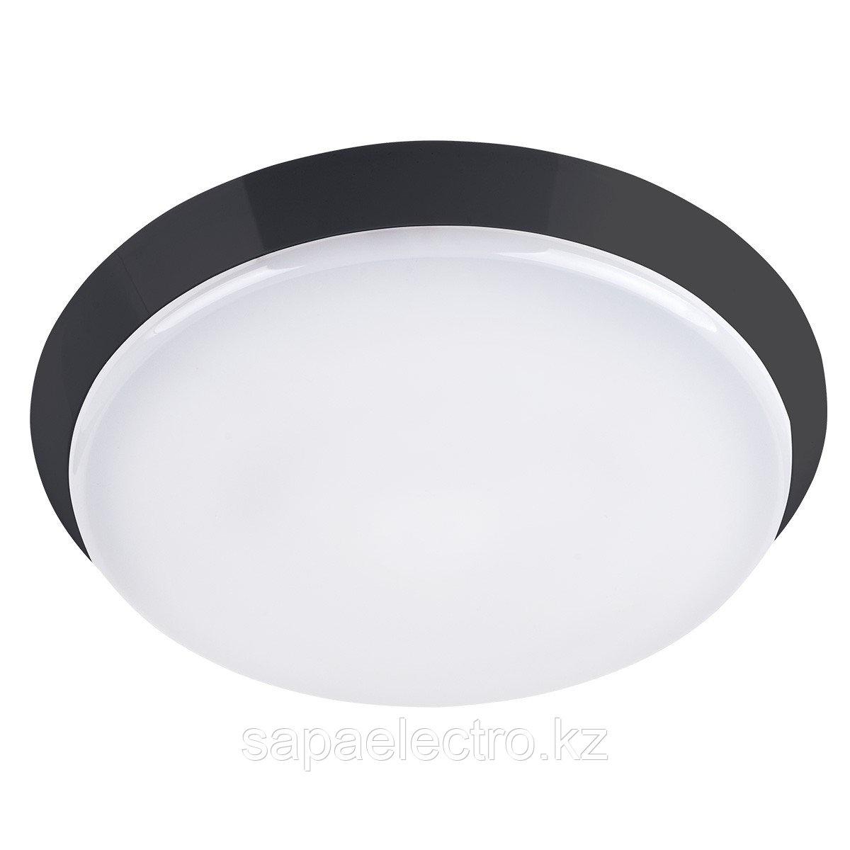Св-к UFO STANDART Черный LED 18W 6000K  MGL(3/54шт3