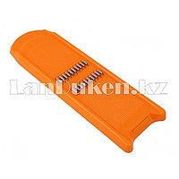 Овощерезка ручная для моркови ЛБ-138 оранжевая