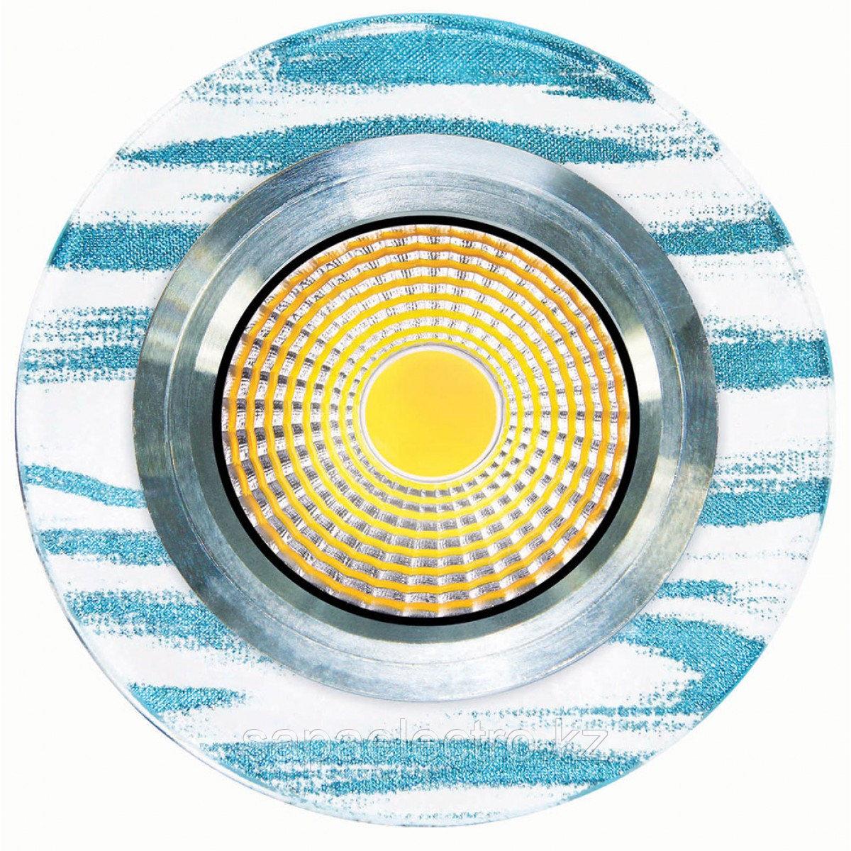 Спот LED QX4-453 ROUND 3W 5000K (TS) 60шт