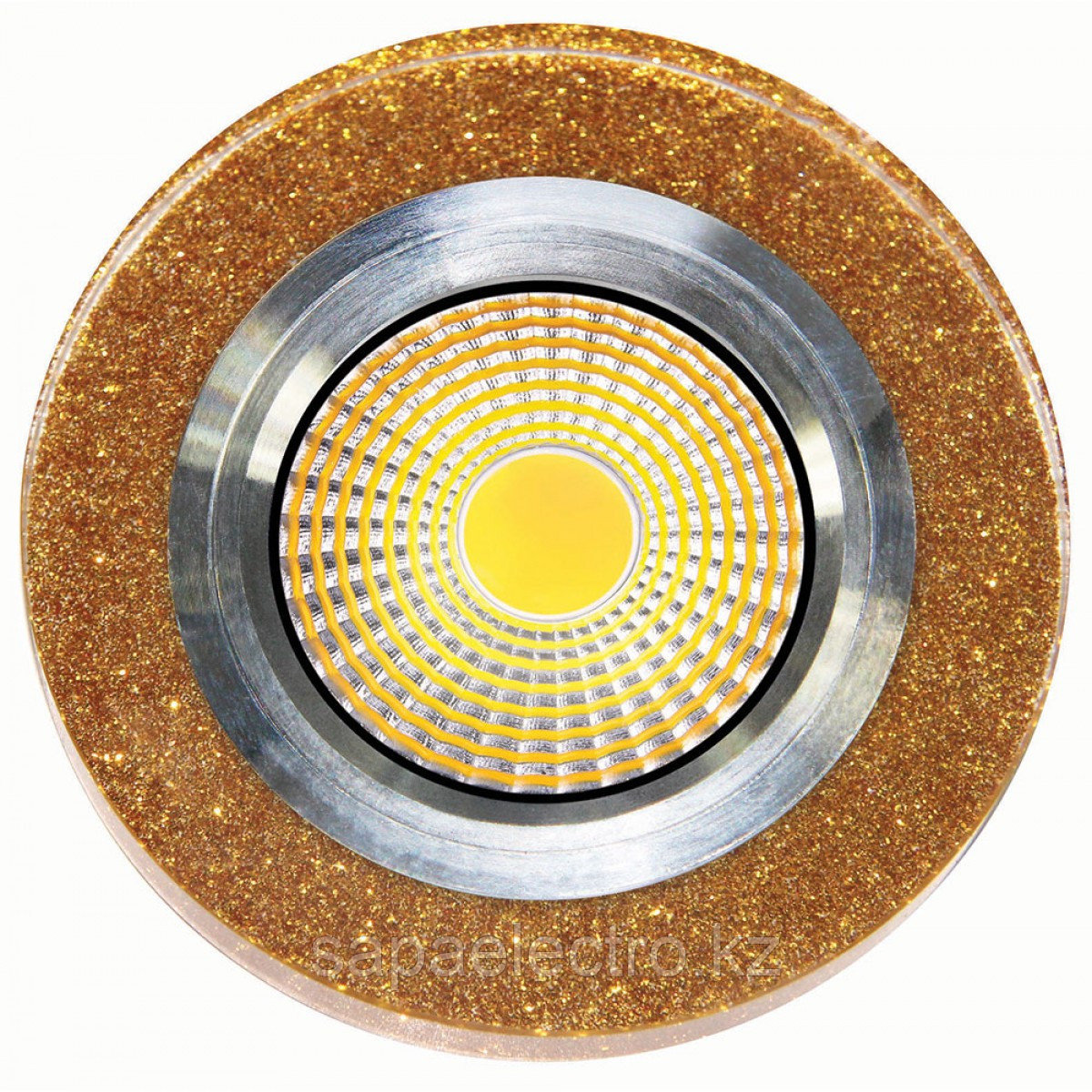 Спот LED QX GOLD ROUND 3W 5000K (TS) 60шт