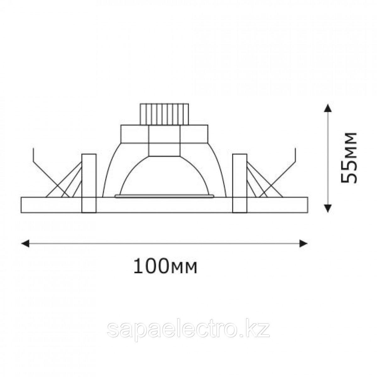Спот LED JL-SPD-PET-2-W-R ROUND 3W 5000K (TS) 60шт
