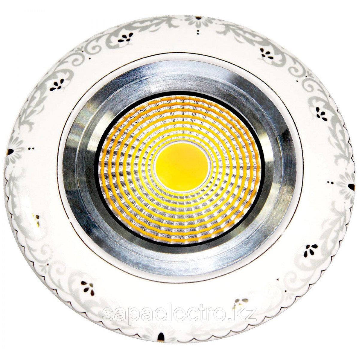 Спот LED ZP111-2 ROUND 3W 5000K (TS) 60шт