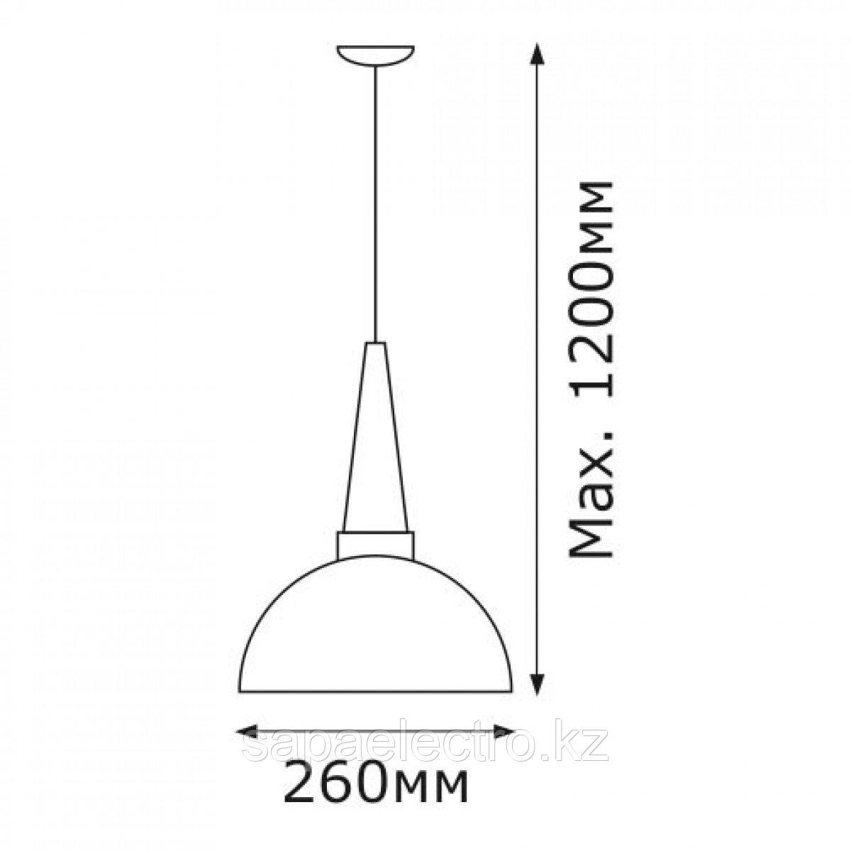 Свет-к  5031-1  E27  MILK WHITE TEKSAN (5шт,4шт)