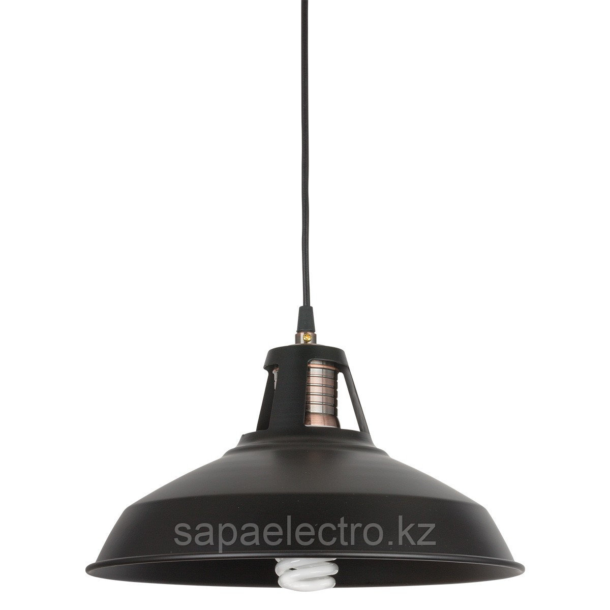 Свет-к  6039  E27 40W BLACK TEKSAN (1шт)