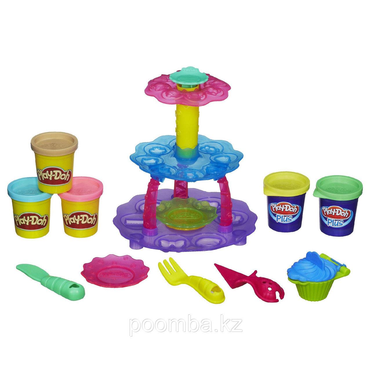 "Набор пластилина ""Башня из кексов"" Play-Doh"