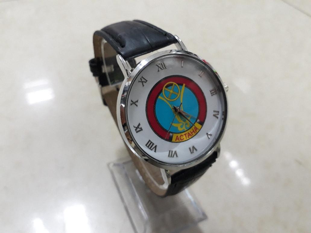 Мужские часы с национальным орнаментом. Рассрочка. Kaspi RED. - фото 1