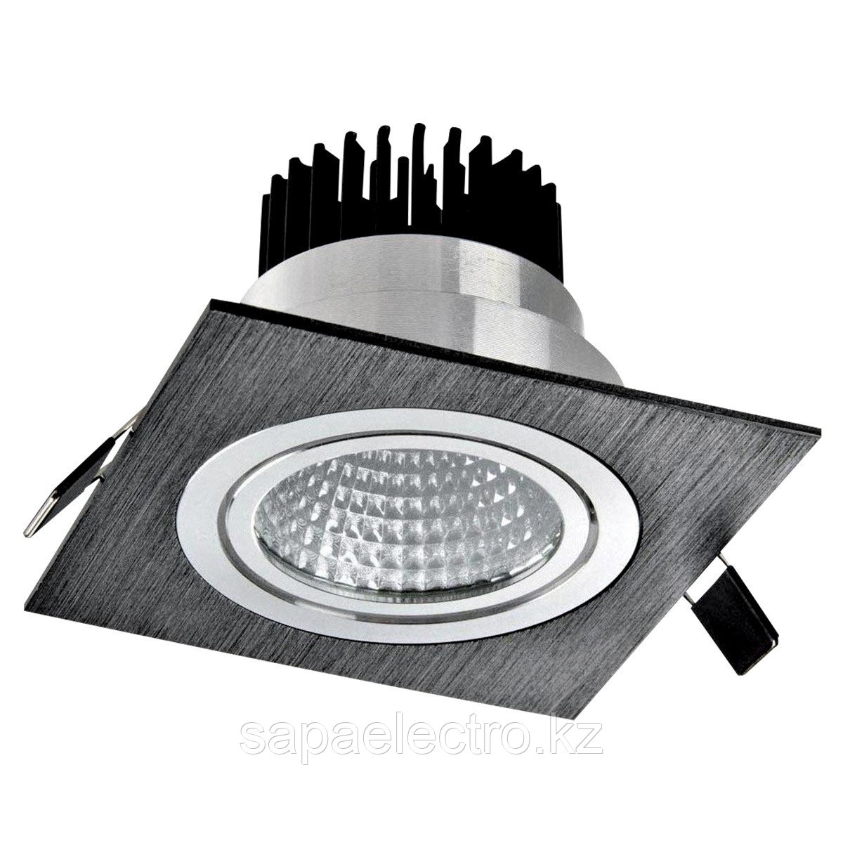 Свет-к LED OC002A 1х5W 5000K BLACK (TS) 50шт