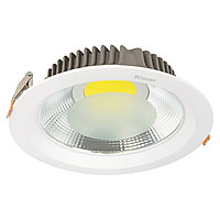 Свет-к DOWNLIGHT LED COB 10W SILVER 5000K (TS) 40шт