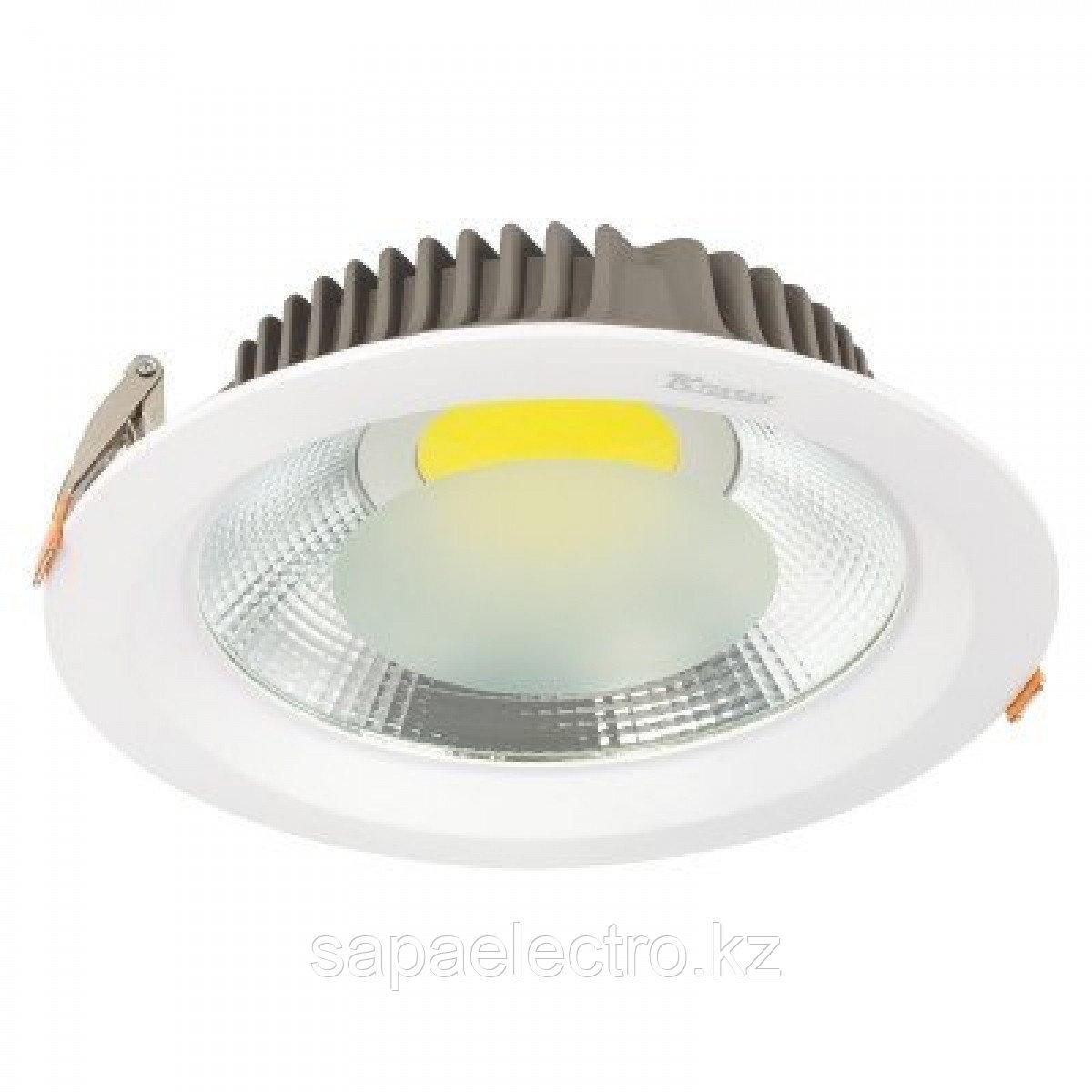 Свет-к DOWNLIGHT LED COB 20W SILVER 5000K (TS) 30шт