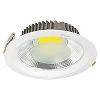 Свет-к DOWNLIGHT LED COB 30W SILVER 5000K (TS) 20шт